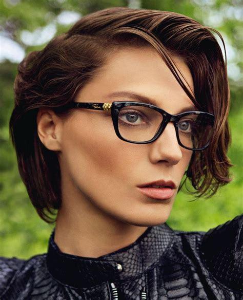 daria werbowy cut  hair models inspiration
