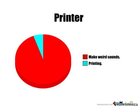Printer Meme - what does printer do by azmeerrazak meme center