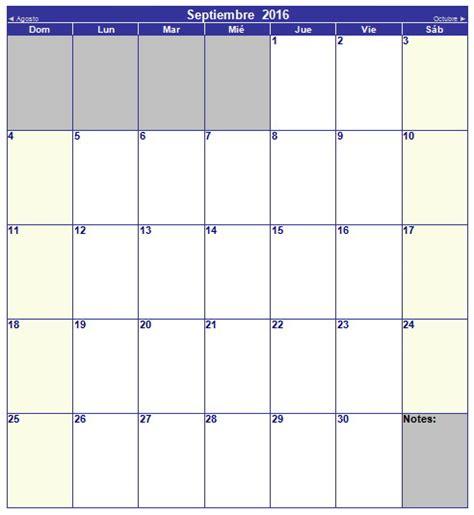 Calendario Septiembre 2017 Editable Im 225 Genes Con Calendarios Infantiles De Septiembre 2016