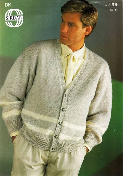 knitting pattern sweater cardigan cables worsted buttons 287 best images about vintage mens knitting patterns