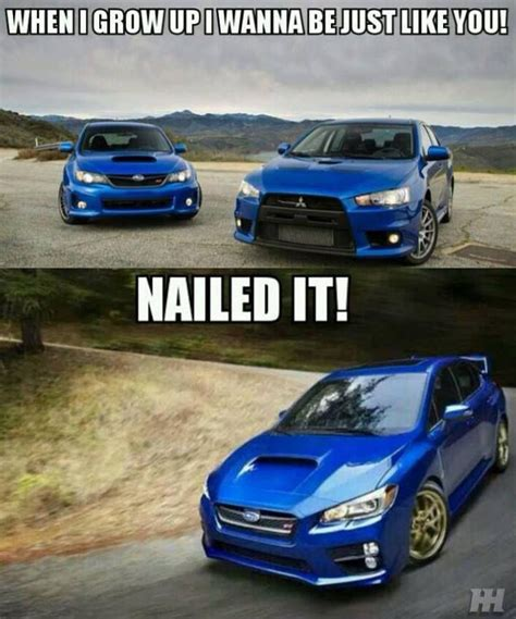 evo subaru meme 25 best images about funny memes on pinterest cars the