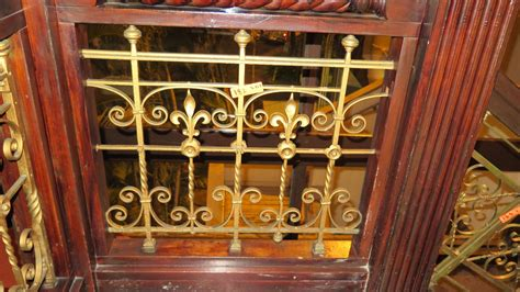 wrought iron accent l 3 piece wrought iron scrollwork railing accent 26 5 quot l x