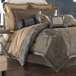 Croscill Comforters Sapphire Damask Comforter Bedding By Croscill