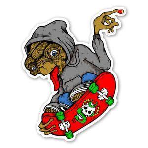 skateboarding stickers stickerapp   skate