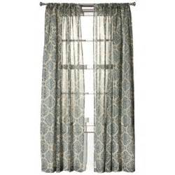 target medallion curtains living room