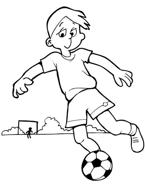 imagenes de niños jugando futbol para dibujar dibujos para colorear de futbol