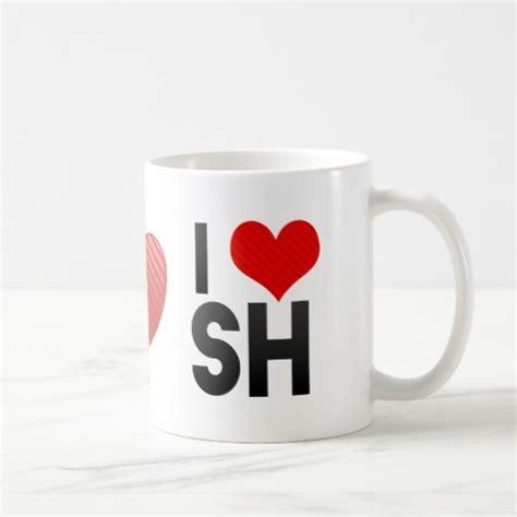 I Love SH Coffee Mug   Zazzle