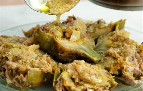 ricette di cucina romana ricetta carciofi alla romana le ricette de la cucina