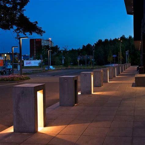 garden bollard light contemporary concrete led bedo