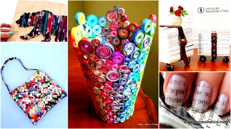 creative things to do in your room 35 diy creative things that can be done with your magazines