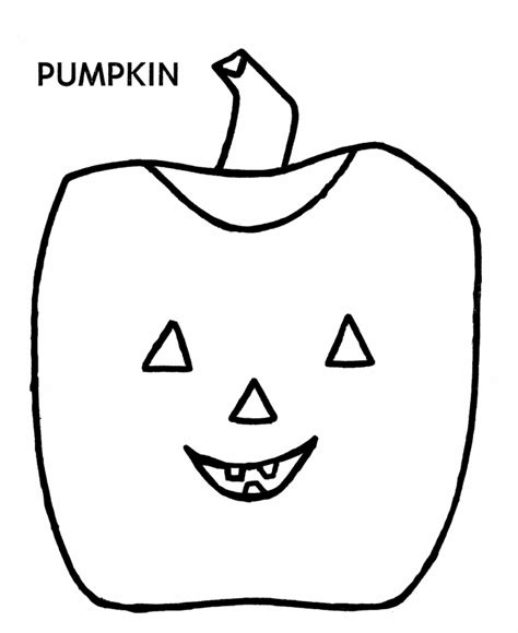 simple pumpkin coloring pages simple jack o lantern coloring home