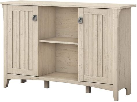 bush furniture salinas accent storage cabinet  doors