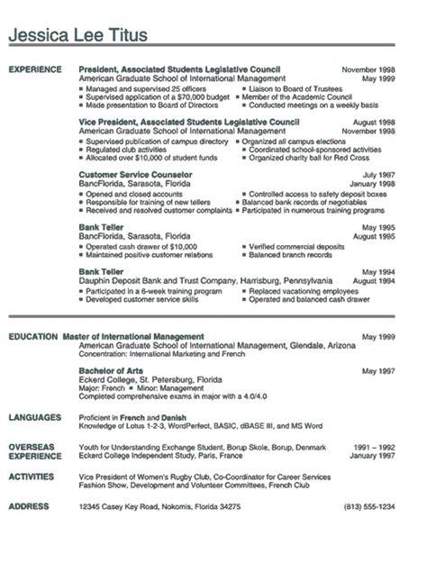resume for graduate program best resume collection