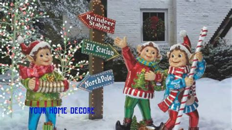 how to fix christmas lawn ornaments 45 outdoor yard decorations diy yard decorations wooden tree