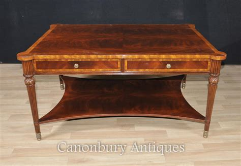 regency coffee table regency coffee table mahogany tables furniture