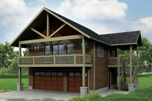 2 Story Floor Plans With Garage by Craftsman House Plans Garage W Apartment 20 152