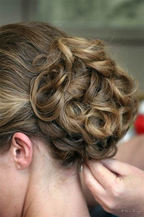 soft updo hairstyles for mothers photo via updo style and brides