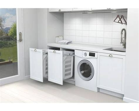 Laundry With Pull Out Basket Bathroom And Laundry Laundry Pull Out