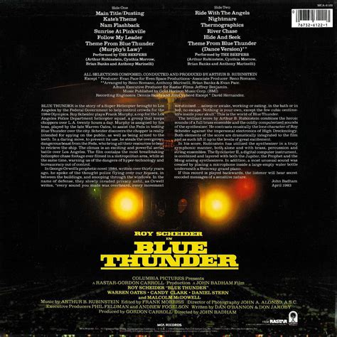 Film Blue Soundtrack | film music site blue thunder soundtrack arthur b