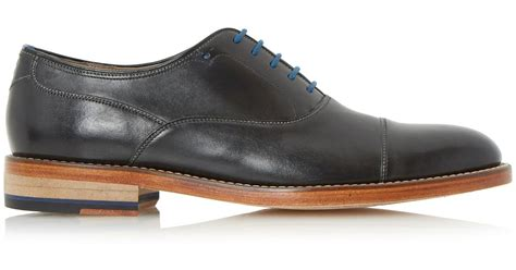 house of fraser oliver sweeney shoes oliver sweeney lupton toecap leather oxford shoes in black for men lyst