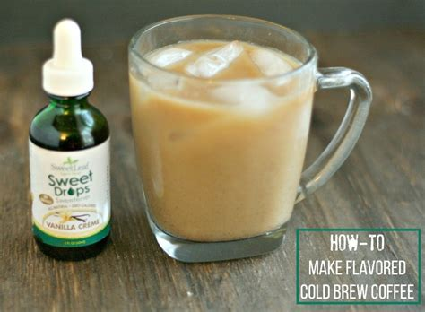 how to make cold brew coffee like starbucks dash of