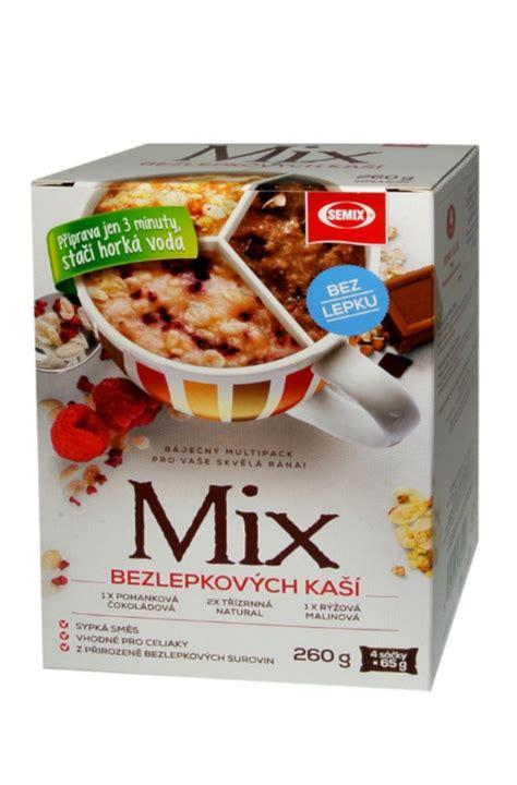 Mix 4 Grains 900 Gram semix mix gluten free porridge 4 x 65 g chocolate
