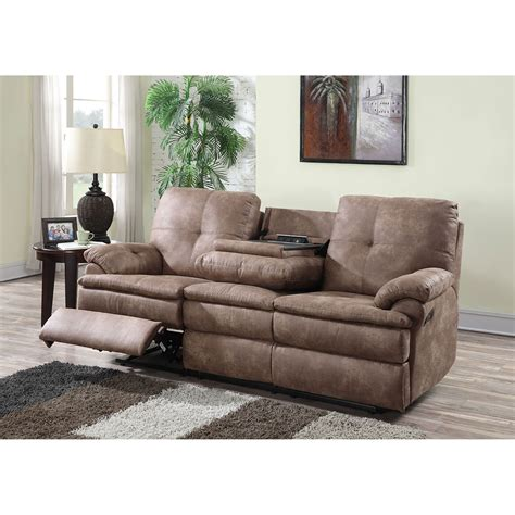 Fabric Recliner Sofa Buck Fabric Reclining Sofa Boutiqify