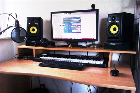 clean home studio setup www pixshark images