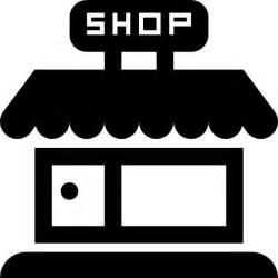 Design Your Awning Shop Store Frontal Building Icons Free Download