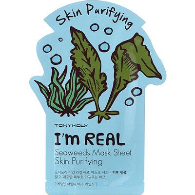 tonymoly im real mask i m real seaweed mask sheet ulta