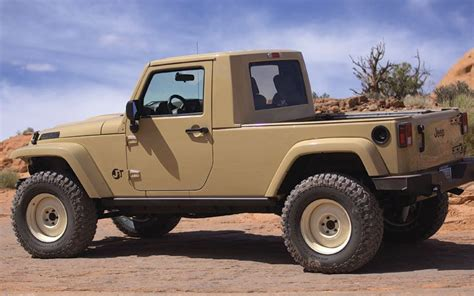 Jeep Truck Concept Hey Jeep Build The Jt Concept Photo Image Gallery