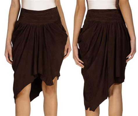 fabulous summer leather skirt for womens