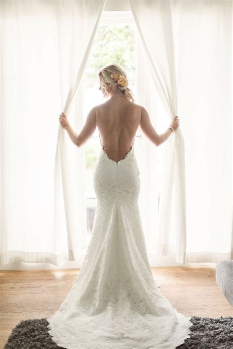 25  best ideas about Backless wedding dresses on Pinterest