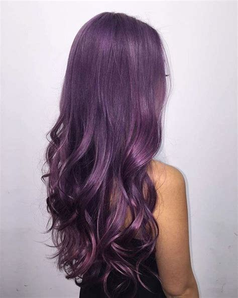 Jepit Rambut Ombre Hair Extension Eggplant Purple metallic purple hair everything about this stellar look hair purple hair