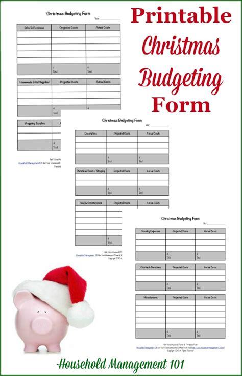 christmas budget planner printable free printable christmas planner 9 forms included
