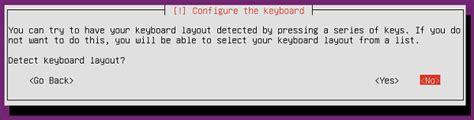 keyboard layout detection ubuntu server installation