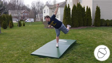 how to build a pitching mound