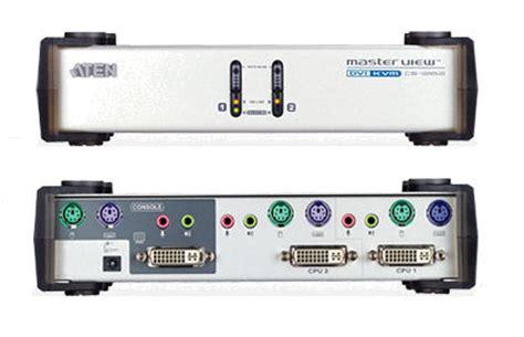 Sale Kvm Switches Aten Dvi D Kvm Cable X0009 2l 7d02v kvm choice uk part no akcs1262c aten 2 port dvi ps2 kvm switch with multimedia supplied