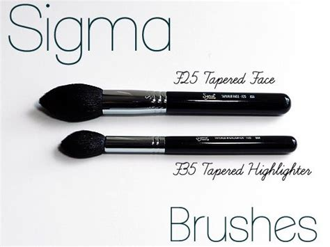 Sigma F25 Tapered Copper 1000 images about sigma brushes the basics on sigma brushes brush set and makeup