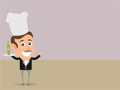 chef background a chef powerpoint templates business finance free