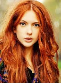 Copper hair color this season in the gold copper copper brown light