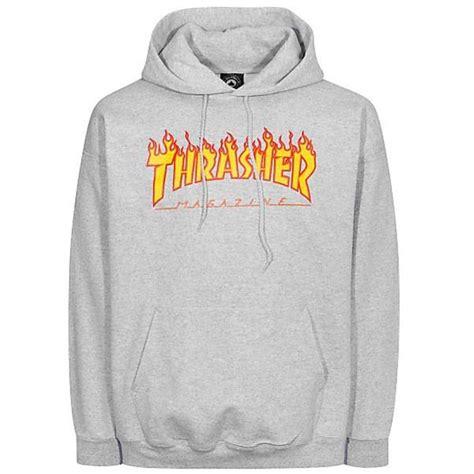 Sweater Thrasher Thrasher Hooded Sweater Grey Skateboards Amsterdam