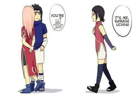naruto dan hinata hot buat anak sarada uchiha meets her parents as kids anime amino