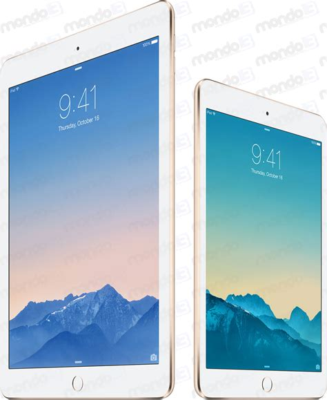 Iphone Mini 2 nuovi air 2 e mini 3 nei negozi apple questa settimana