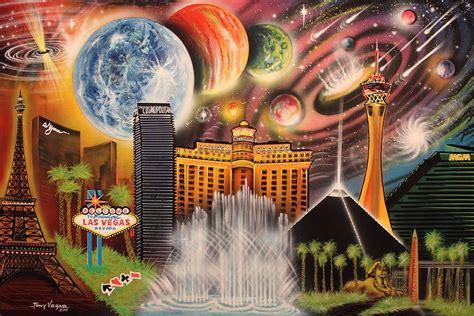 spray paint vegas cosmic las vegas by tony vegas