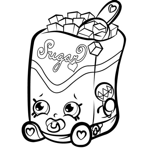 Coloring Page by Shopkins Coloring Pages Best Coloring Pages For