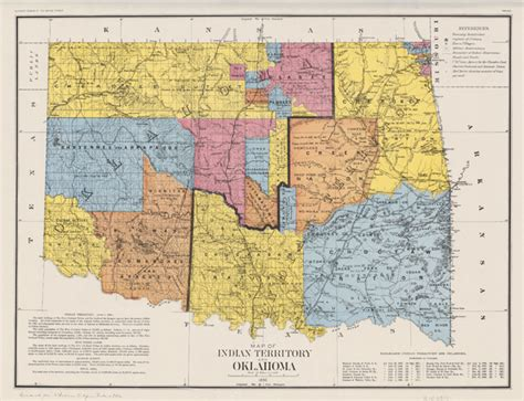 Unassigned Territory the oklahoma land run