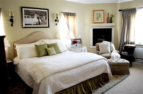 simple and serene master bedroom centsational