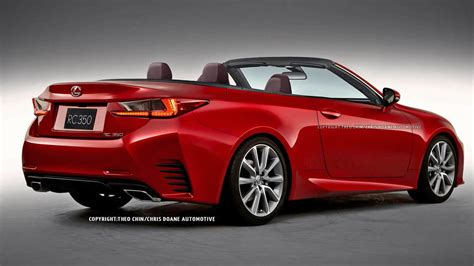lexus convertible 2015 lexus rc convertible looks