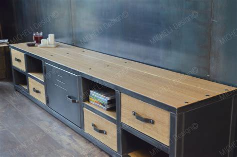 Meuble Bas Industriel 698 meuble bas industriel meuble tv bas industriel vintage